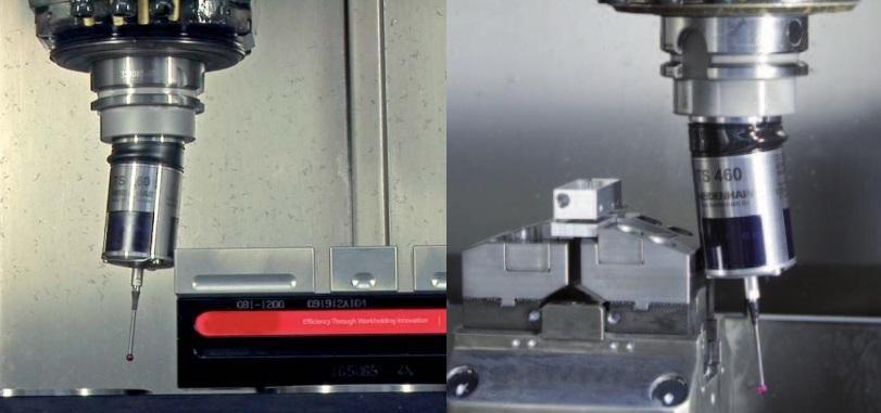 Système anti-collision sur palpeur TS 460