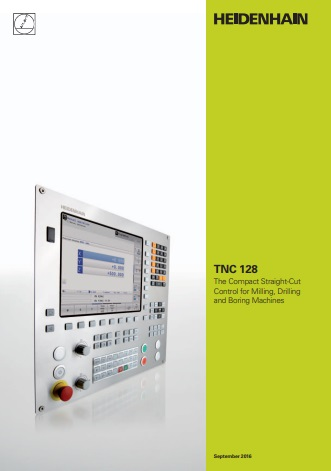 Catalogue (English) CN Heidenhain TNC 128