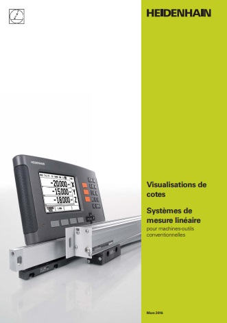 Catalogue des visualisations de côtes Heidenhain
