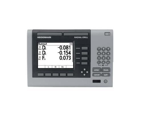 Visualisation de cotes ND 1200 R RADIAL-DRILL Heidenhain