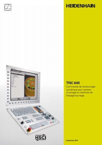 Catalogue CN Heidenhain TNC 640