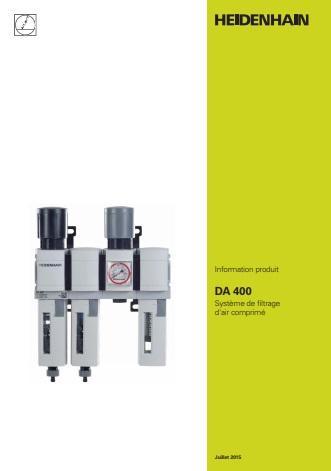 Catalogue du DA 400 Système de pressurisation des règles Heidenhain