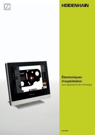 Catalogue des électroniques d'exploitation Heidenhain