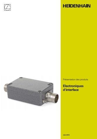 Catalogue des électroniques d'interface Heidenhain