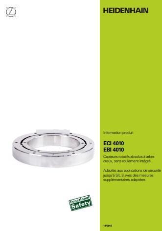 Catalogue des capteurs rotatifs absolus à arbre creux, sans roulement intégré