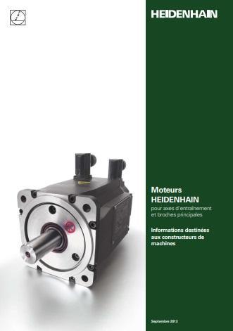 Catalogue des moteurs Heidenhain pour machines-outils