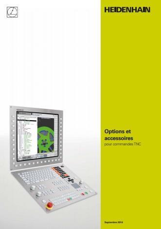 Catalogue des options et accessoires pour commande numérique Heidenhain