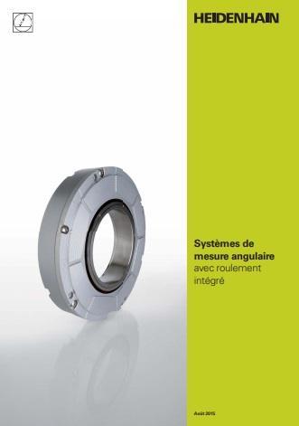 Catalogue des systèmes de mesure angulaire avec roulement intégré