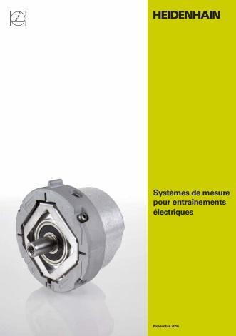 Catalogue des systèmes de mesure pour entraînements électriques