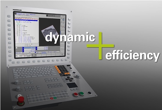 A.synoptim propose de le test de l'option dynamic efficiency pour les CN Heidenhain