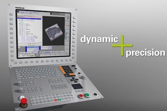 A.synoptim propose de le test de l'option dynamic precision pour les CN Heidenhain