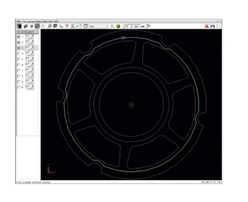 Option Heidenhain 42 - Convertisseur des fichiers DXF