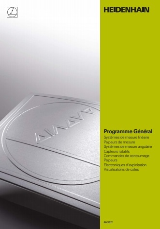 Programme général Heidenhain