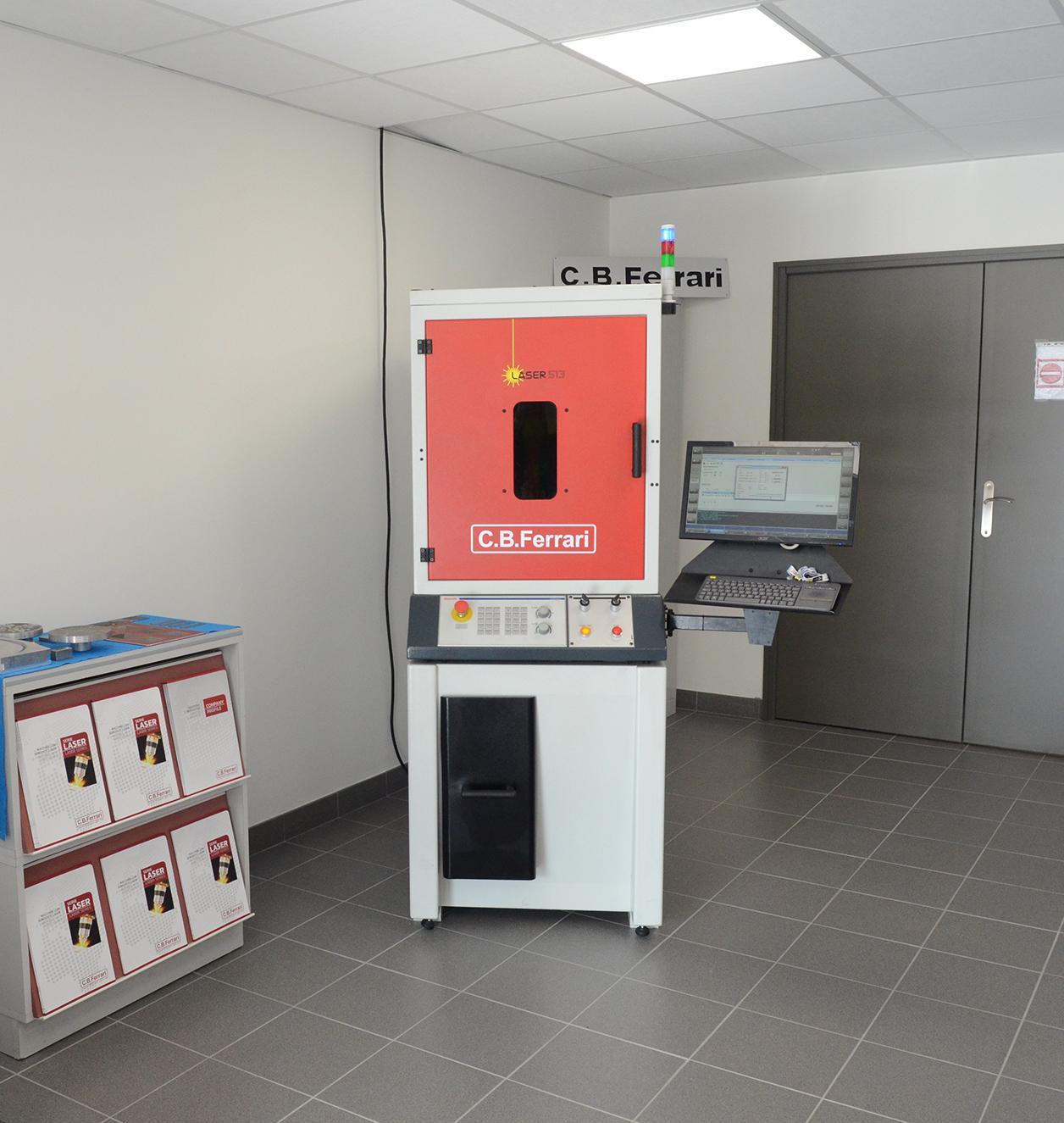 La machine laser C.B. Ferrari