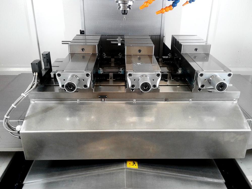 Intégration d'un laser Blum sur fraiseuse Mikron